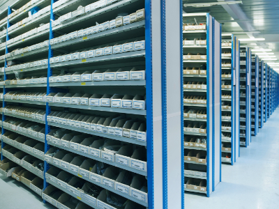 How much stock to underwrite with a Contract Electronics Manufacturer?